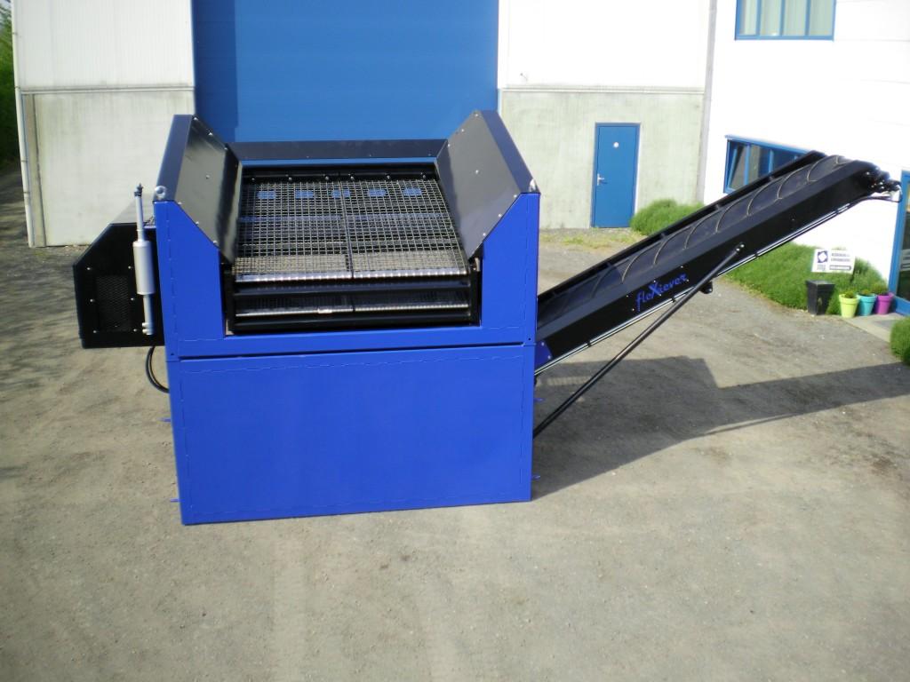 Eerste flexiever fixed conveyor voor firma wille wille uit huldenberg vakblad recycling - Zinkt de verkoop ...
