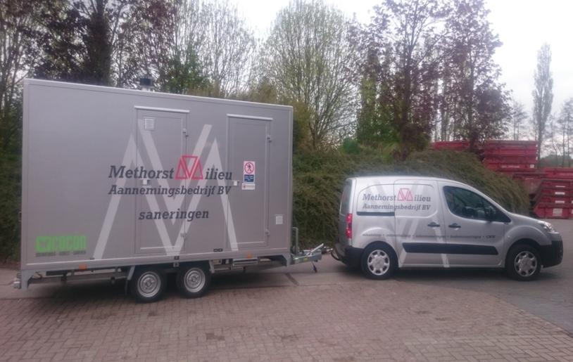 Dehaco deco 400s decontaminatiewagen voor methorst milieu vakblad recycling magazine benelux - Doucheruimte deco ...