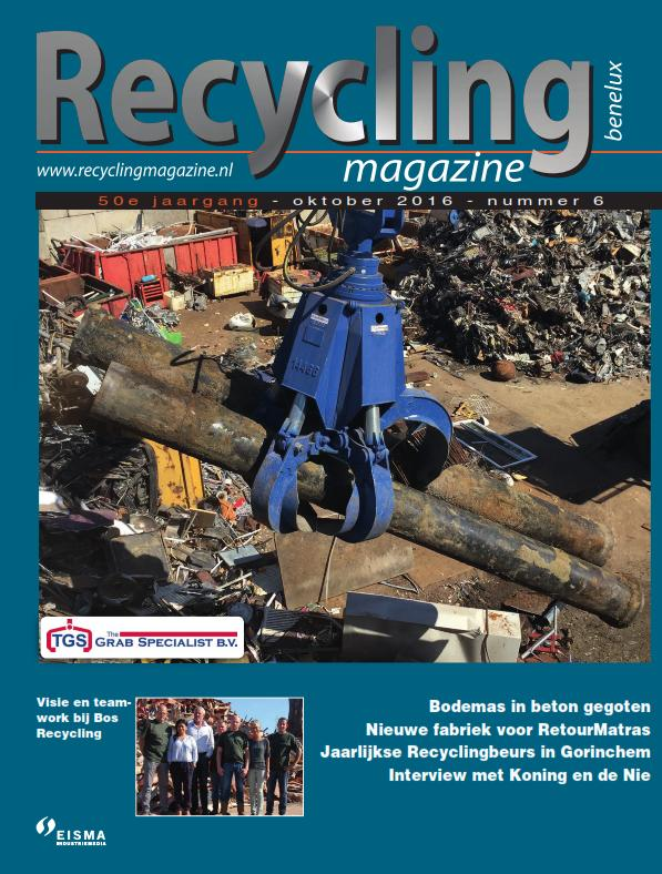 Uitgave recycling magazine benelux oktober 2016 vakblad for How to recycle old magazines