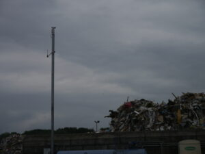 Kooi-Security camerasysteem bij afval